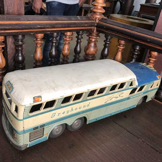 Grayhound Scenicruiser Toy Bus