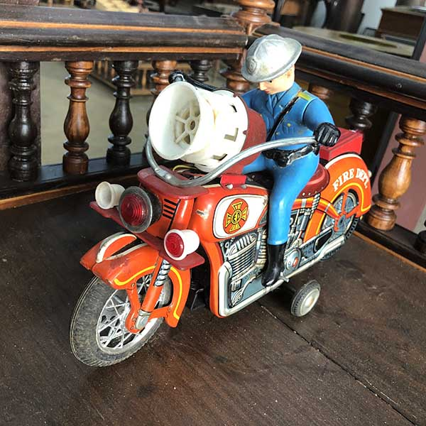 Antique Motor Cycle Toy