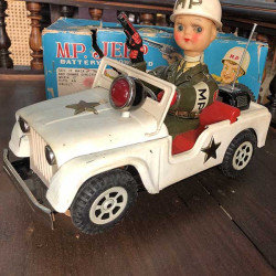 MP Jeep Antique toy