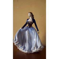 Royal Doulton Classics Happy anniversary Blue
