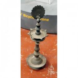 Antique Temple Brass Oil Lamp