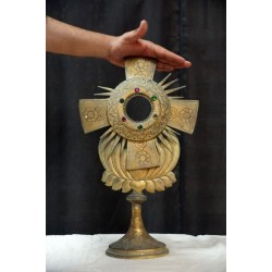 Antique Monstrance Church Artifacts