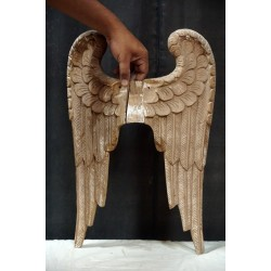 Antique wooden Angel Wings