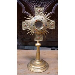 Antique Monstrance  Christian Artfacts