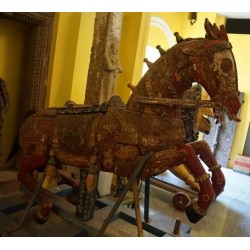 Antique Red Horse