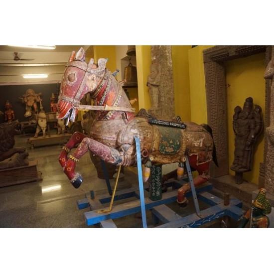 Antique Red Horse