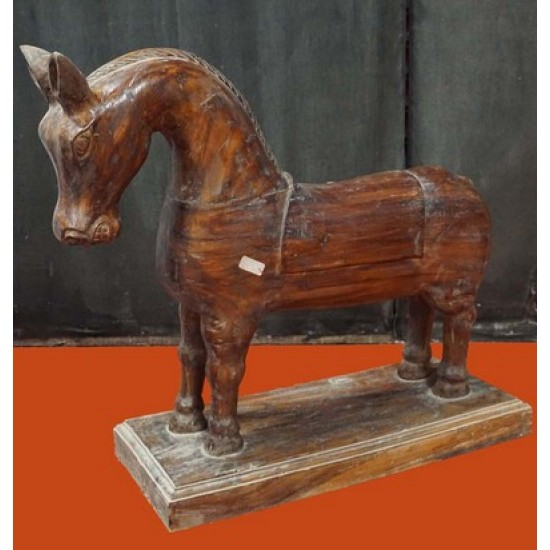 Antique Toy  Wooden Horse
