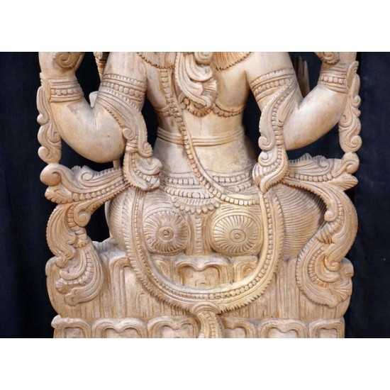 Antique Wooden Lord Shiva