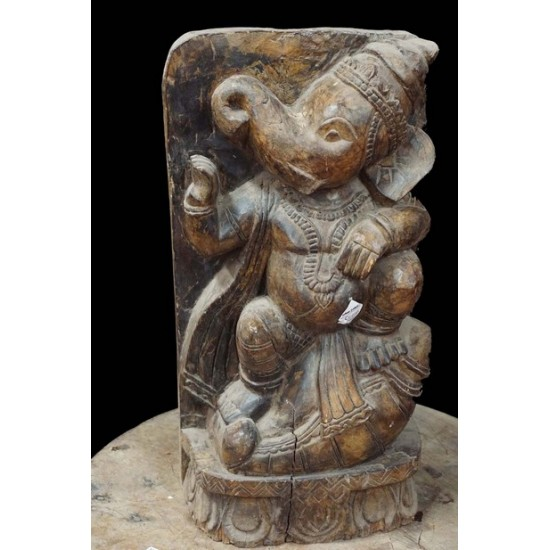 Lord Ganesha Wooden carved piece