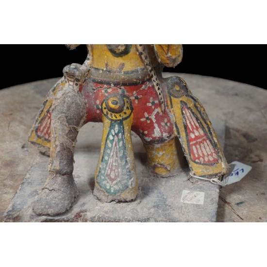 Lord Garuda Antique Wooden Statue
