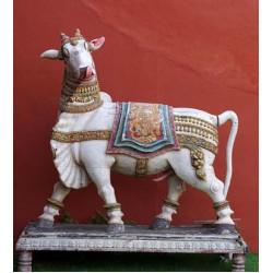 Wooden Lord Shiva Vahana Nandi
