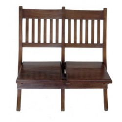 Two in One Wooden Garden Chair