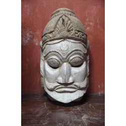 Antique Wooden Tribal Mask