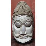 Antique Wooden Tribal Mask