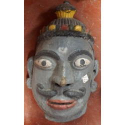 Antique Wooden Tribal Lord Face Mask