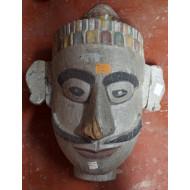Wooden Mask Tribal Antique