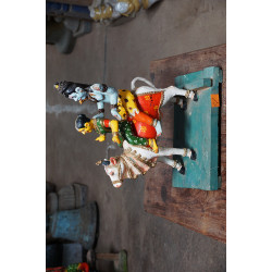 Shiva and Parvati Statue