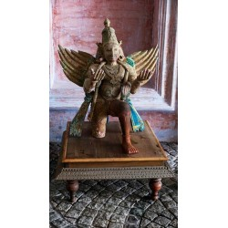 Royal Vishnu Temple Piece-Lord Garuda Statue