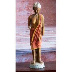 Spring Headed Terracotta Figure