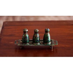 Silver Salt and Pepper Shakers