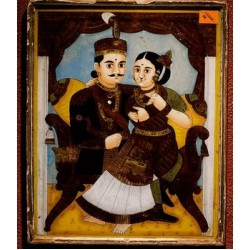 Rajarani  Glass Painting