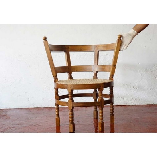 Teak Wood Burgermeister Chair