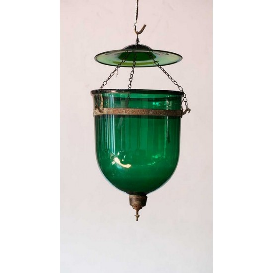 Green Ner Tamid Lamp