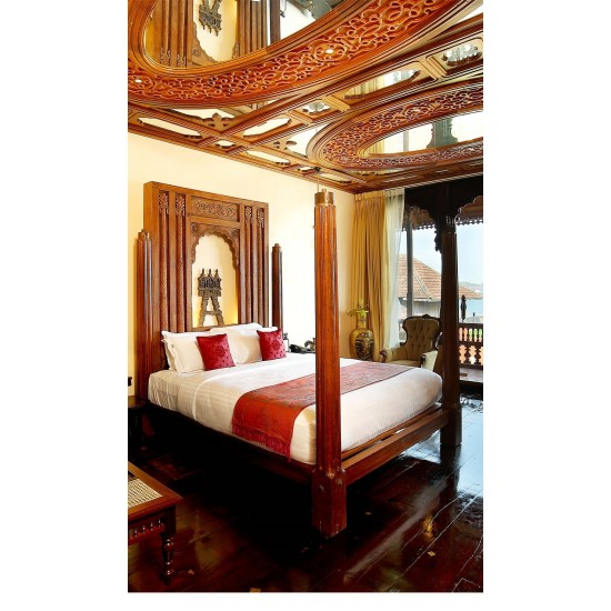 Antique Kerala-Royal Four Poster Bed