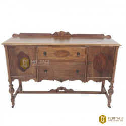 American Antique Style Wooden Cupboard