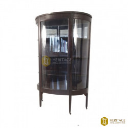 Antique Style Glass Showcase