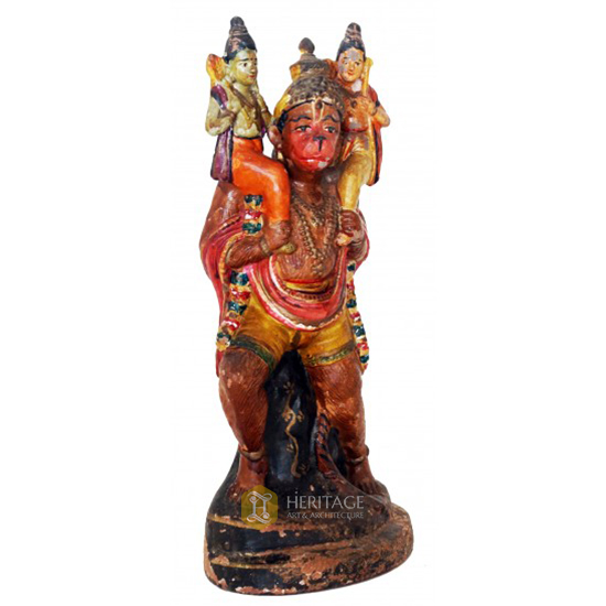 Antique Hanuman sculpture