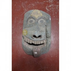 Antique Trabal Wooden Mask