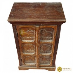 Antique Style Wooden Carved Almirah