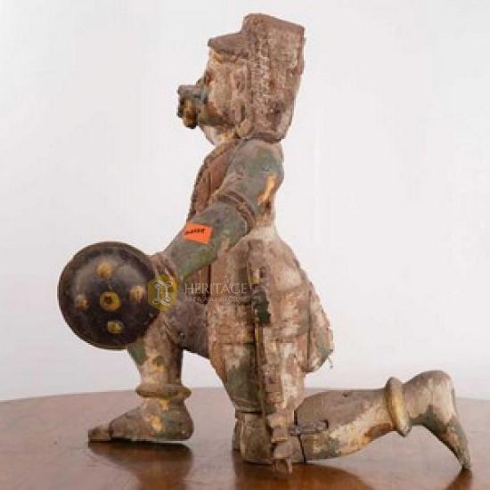 Antique Wooden Statue