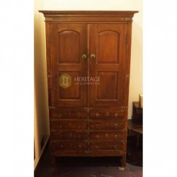 Antique Style Wooden Wardrobe
