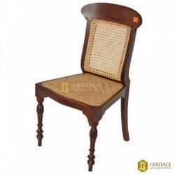 Cane and Rosewood Chair