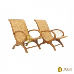 Cane Woven Easy Chair