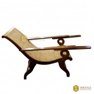 Malabar Teak Wood Easy Chair