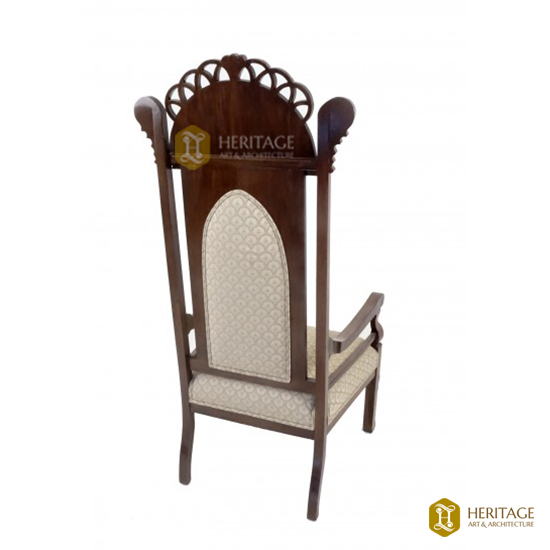 Medieval Style High King Chair