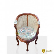 Cane Woven Curved-back Chair