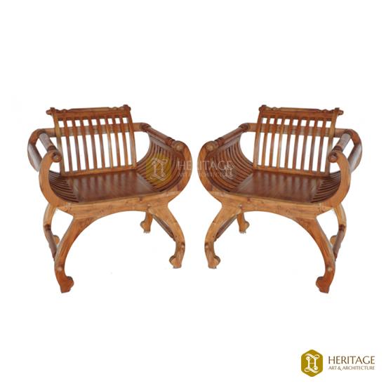 Teak Wood Windsor Chair