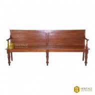 Antique Style Teakwood Bench