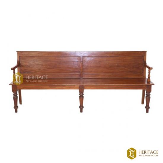 Antique Style Teakwood Bench