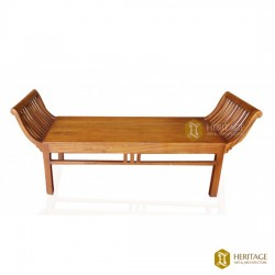 Teak Wood Balcony Bench