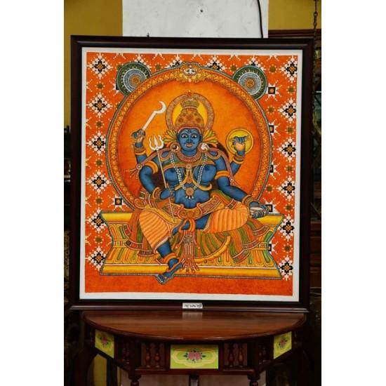 Bhadrakali mural painting