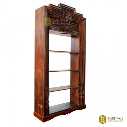 Chettinad Door Converted Book Shelf