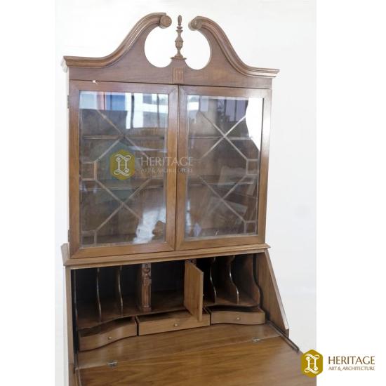 Multi-cabinet Wooden Bookshelf