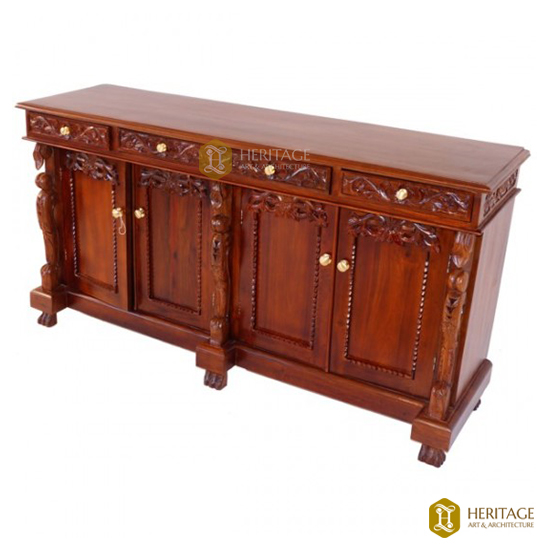 Antique Style SideBoard Cabinet