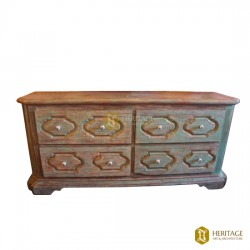 Antique Style Solid Wood Cabinet