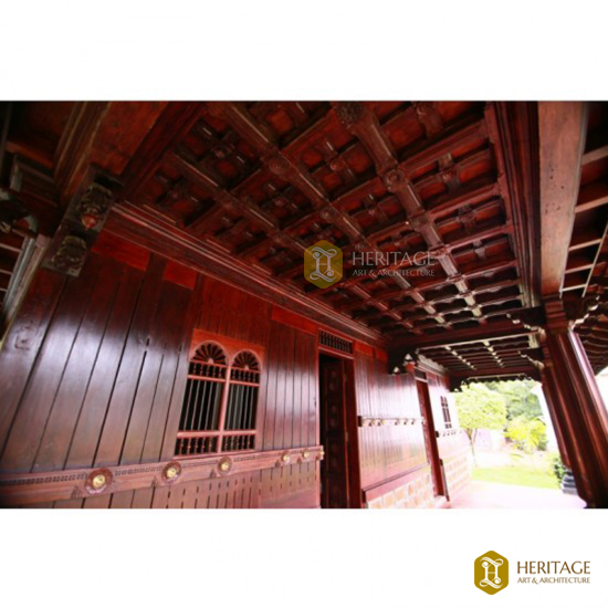 Kerala Style Wooden Ceiling